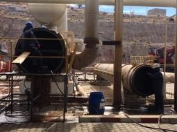Su Jeti ile Vaporizer ve Preheater Temizliği